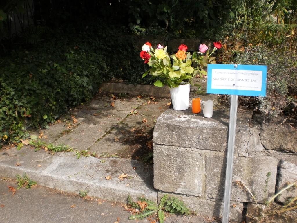 Zugang zur Synagoge